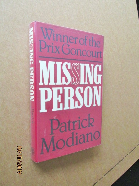 Image for Missing Person First Edition Hardback in Dustjacket