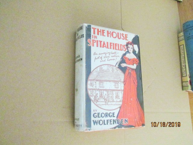 Image for The House in Spitalfields 1937 First Edition in Original Dustjacket
