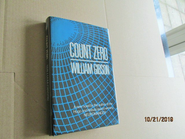 Image for Count Zero Signed First Edition in Dustjacket