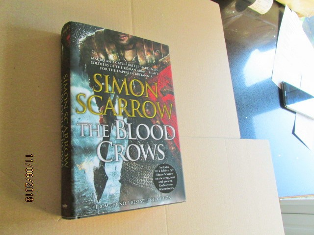 Image for The Blood Crows First Edition Hardback in Dustjacket Plus Extra Text Its a Soldiers Life at Back of Book