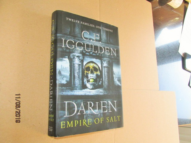 Image for Darien Empire of Salt First Edition Hardback in Dustjacket
