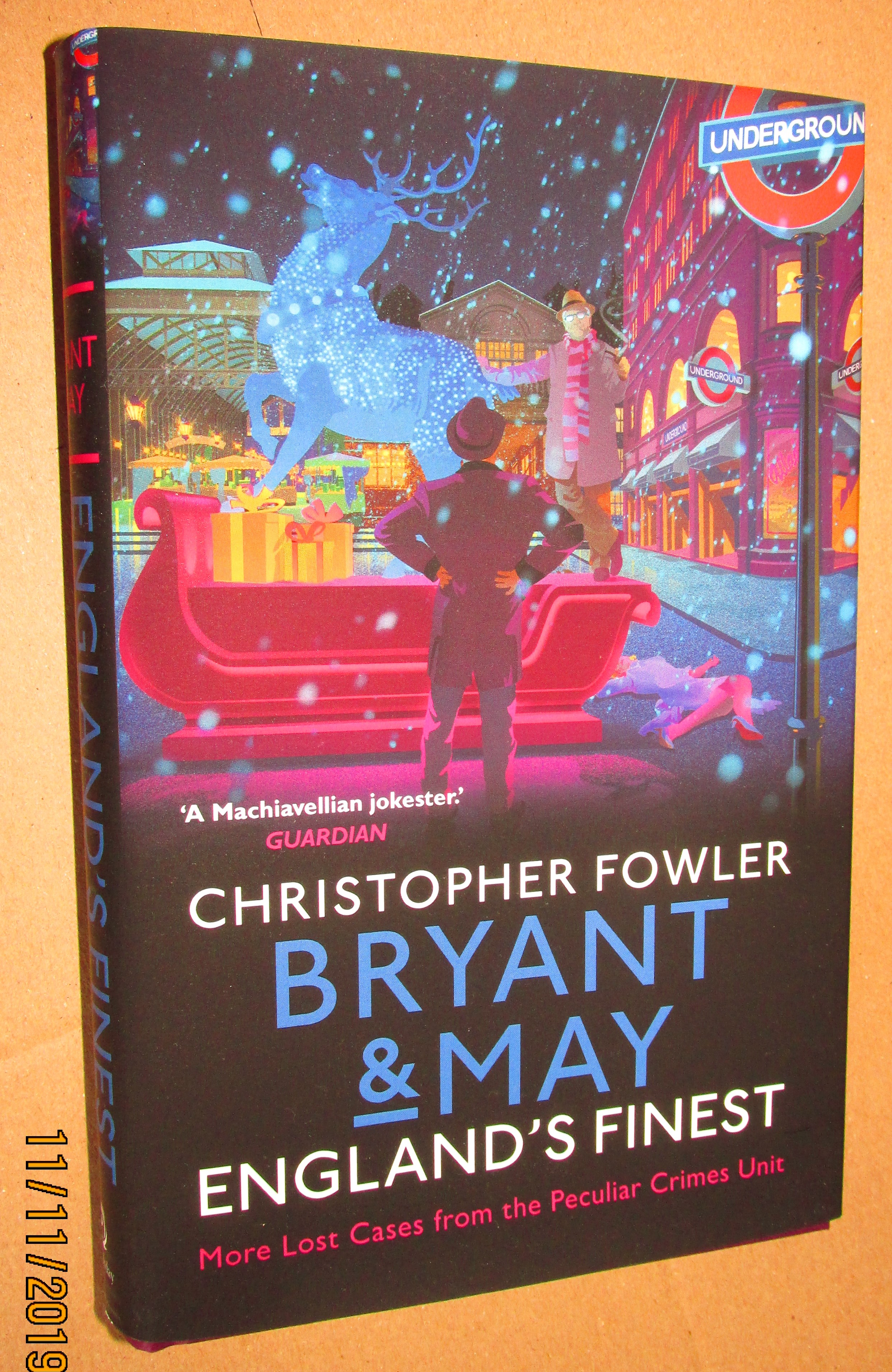 Image for Bryant and May England's Finest Unread Signed Lined Dated First Edition Hardback in Dustjacket