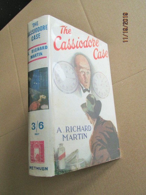 Image for The Cassiodore Case First Edition in Original Dustjacket