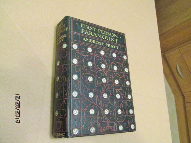 First Person Paramount First Edition Hardback