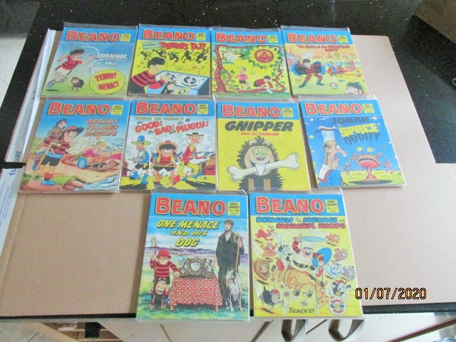 Image for Beano Comic Library No.12,64,74,130,138,139,140,141,155,174 Ten vols