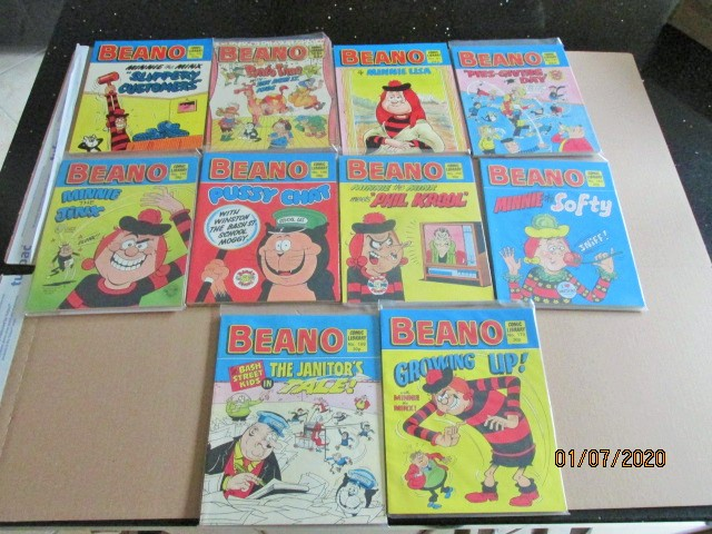 Image for Beano Comic Library No.16,28,92,106,118,145,150,152,156,158 Ten Vols