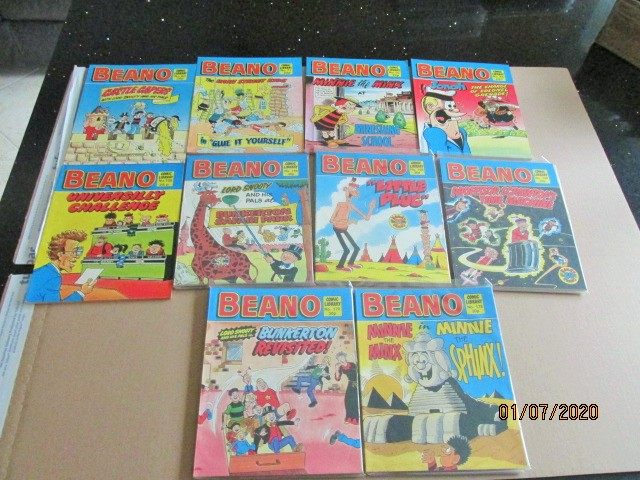 Image for Beano Comic Library No.50,71,75,85,109,159,166,168,170,178 Ten Vols