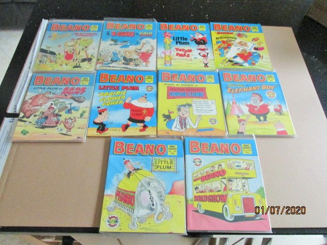 Image for Beano Comic Library No.45,65,91,131,142,146,160,163,169,173 Ten Vols