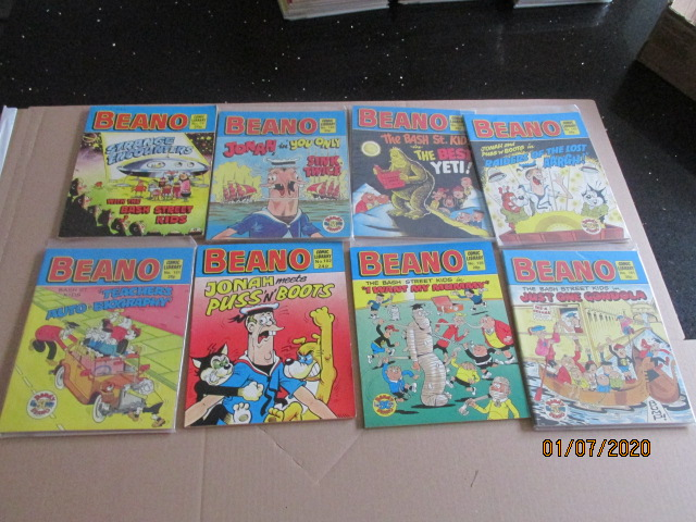 Image for Beano Comic Library No.19,102,135,143,151,161,165,184 Eight Vols