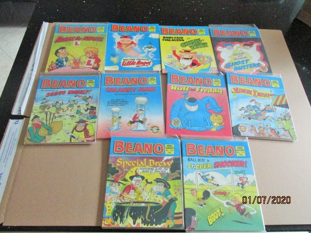 Image for Beano Comic Library No.15,27,33,116,128,157,164,167,177,182 Ten Vols