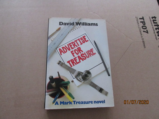 Image for Advertise For Treasure First Edition Hardback in Dustjacket