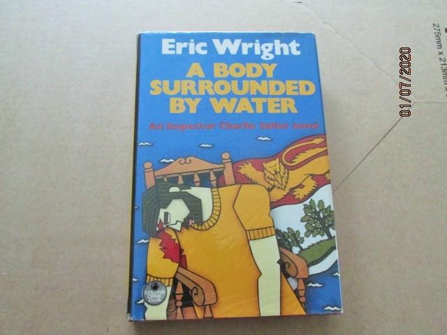 Image for A Body Surrounded By Water First Edition Hardback in Dustjacket