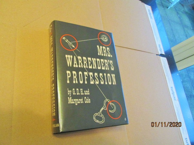 Image for Mrs Warrender's Profession First Edition in Original Dustjacket