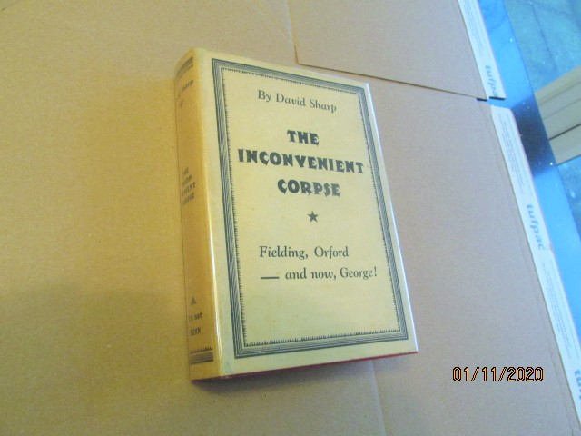 The Inconvenient Corpse First Edition in Original Dustjacket