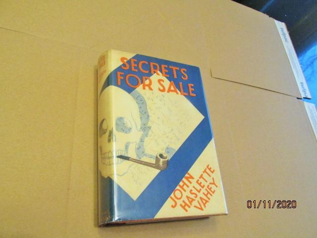 Secrets for Sale First Edition Hardback in Original Dustjacket