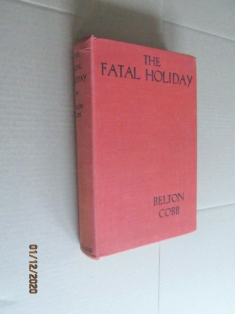 Image for The Fatal Holiday First Edition Hardback