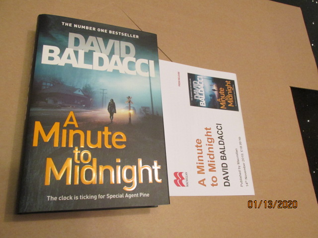 Image for A Minute to Midnight Unread Fine First Edition Hardback in Dustjacket Plus Publicity Letter