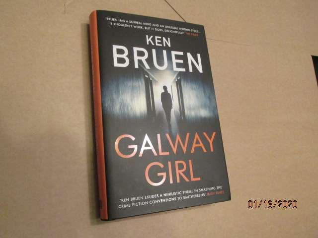 Image for Galway Girl Unread Fine First Edition hardback in dustjacket Plus Publicity Letter