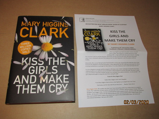 Image for Kiss the Girls and Make Them Cry First Edition Hardback in Dustjacket Plus Publicity Letter