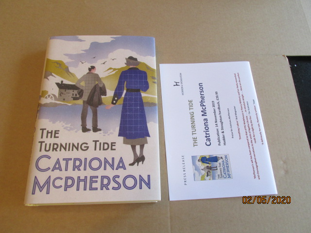 Image for The Turning Tide Unread First Edition Hardback in Dustjacket Plus Publicity Letter