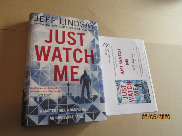Image for Just Watch Me Unread First Edition Hardback in Dustjacket Plus Publicity Letter