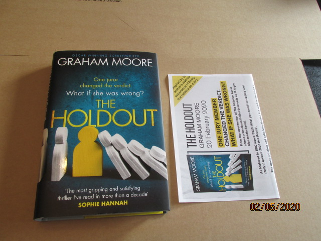Image for The Holdout Unread First Edition Hardback in Dustjacket Plus Publicity Letter