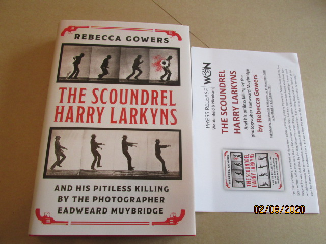 Image for The Scoundrel Harry Larkyns First Edition Hardback in Dustjacket Plus Publicty Letter