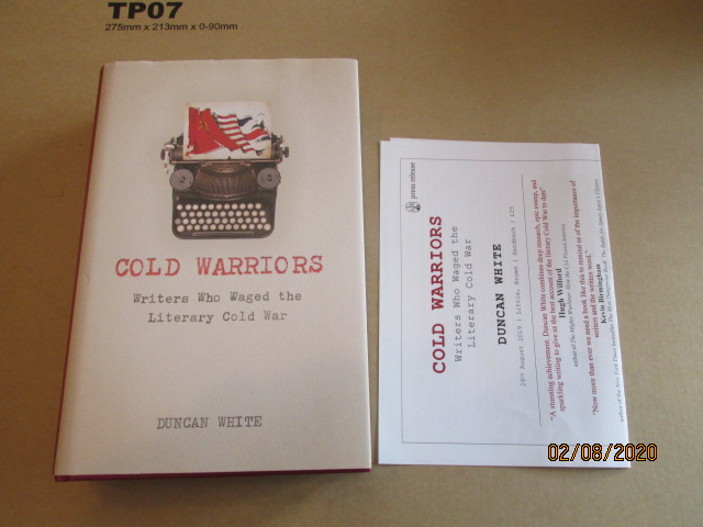 Image for Cold Warriors Writers Who Waged the Literary Cold War First Ediiton Hardback in Dustjacket Plus Publcity Letter