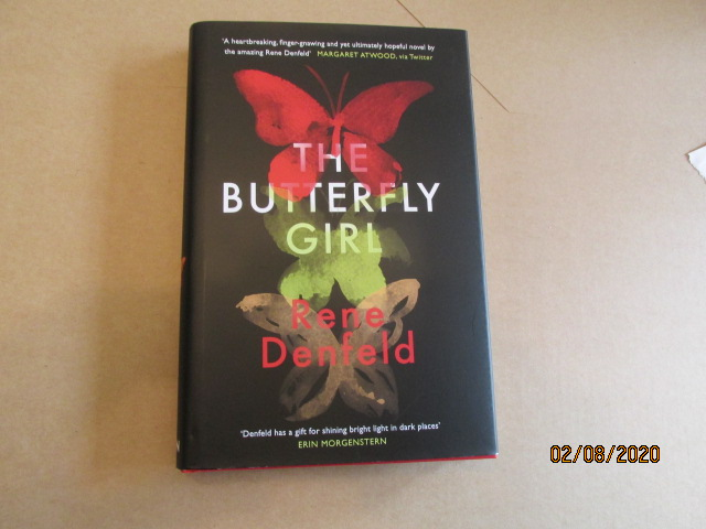 Image for The Butterfly Girl First Edition Hardback in Dustjacket Plus Publicity Letter
