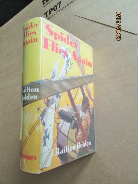 Spider Flies Again First Edition Hardback in Original Dustjacket