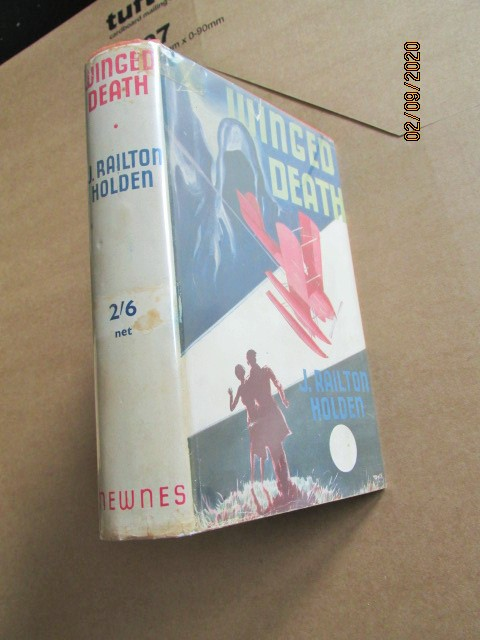 Winged Death First Edition Hardback in Original Dustjacket