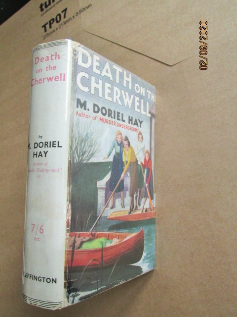 Image for Death on the Cherwell First Edition Hardback in Original Dustjacket