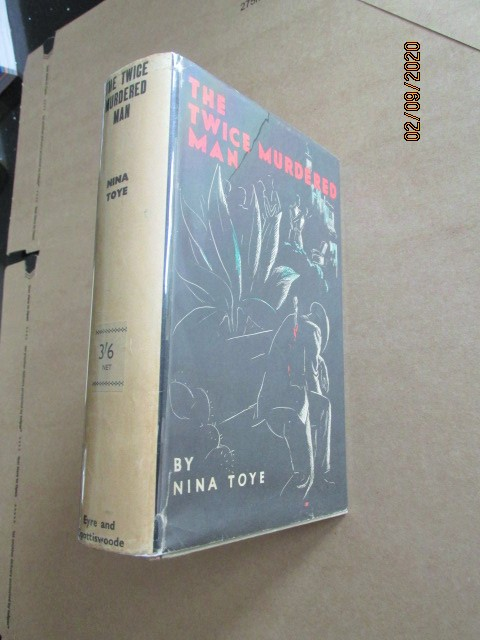 Image for The Twice Murdered Man First Edition Hardback in Original Dustjacket