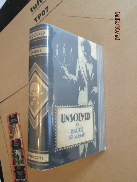 Unsolved First Edition Hardback in Original Dustjacket