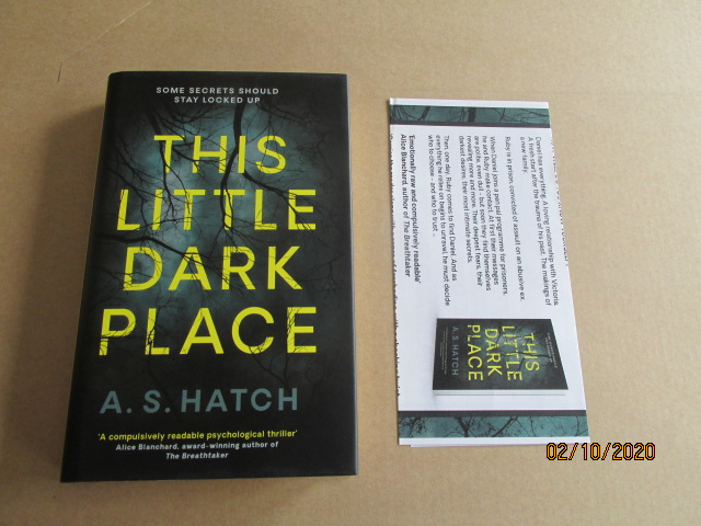 Image for This Little Dark Place Unread First Edition Hardback in Dustjacket Plus Publicity Letter