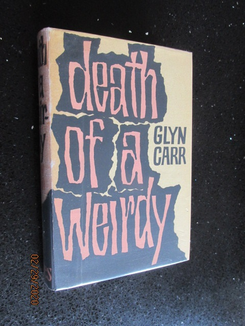 Image for Death of a Weirdy First Edition Hardback in Original Dustjacket
