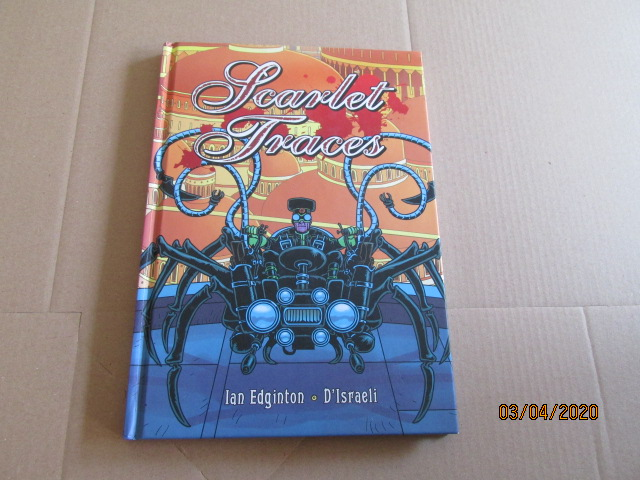 Image for Scarlet Traces First Edition