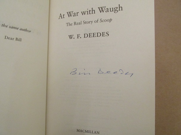 "Image for At War with Waugh: The true Story of ""Scoop"" Signed Hardback in Dustjacket"
