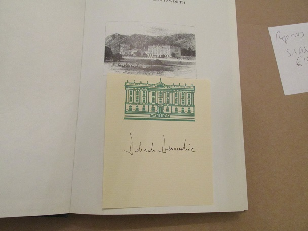 Image for House-Portrait Of Chatsworth Signed on Chatsworth Bookplate