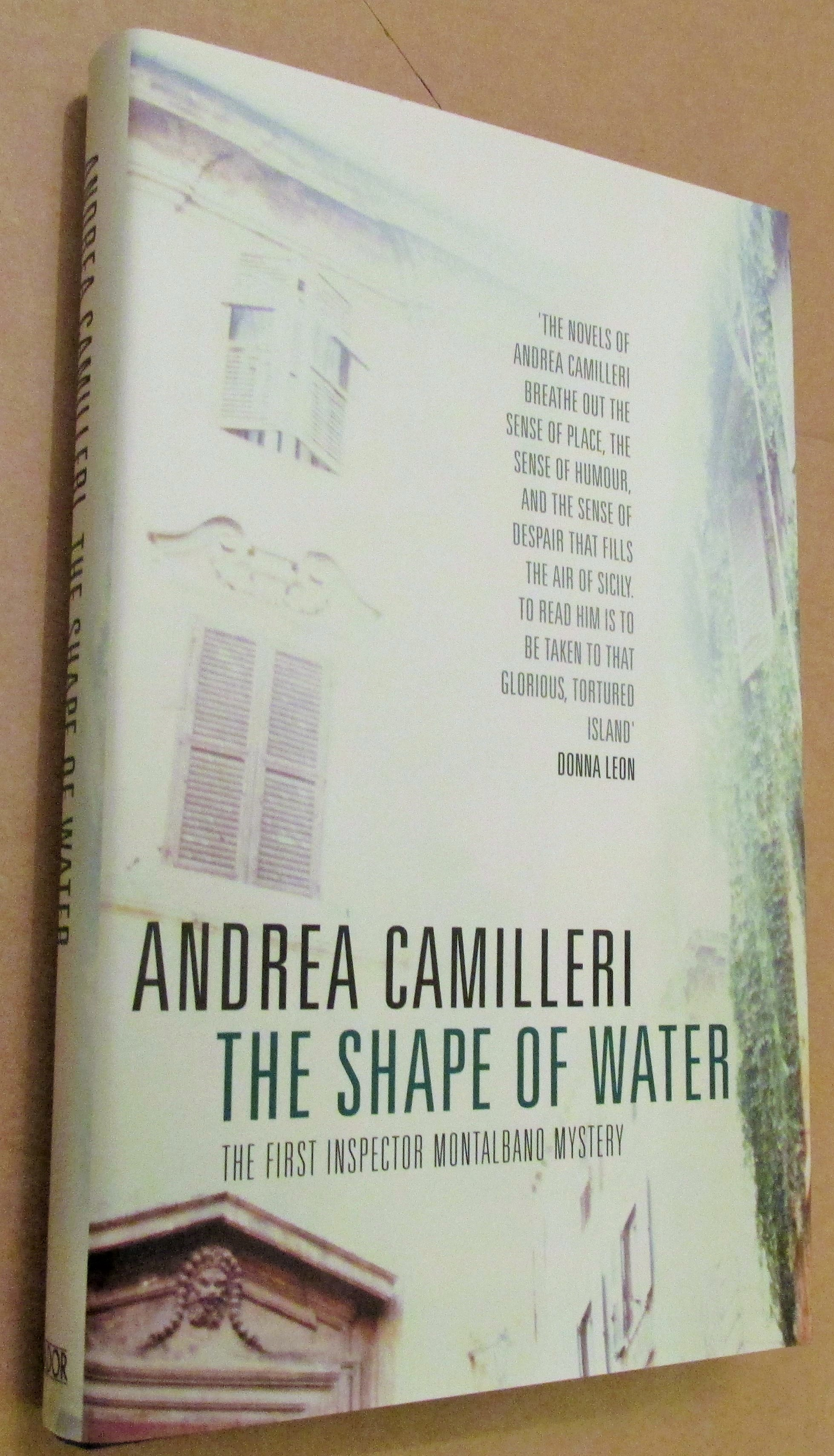 Image for The Shape of Water First Edition Hardback in Dustjacket
