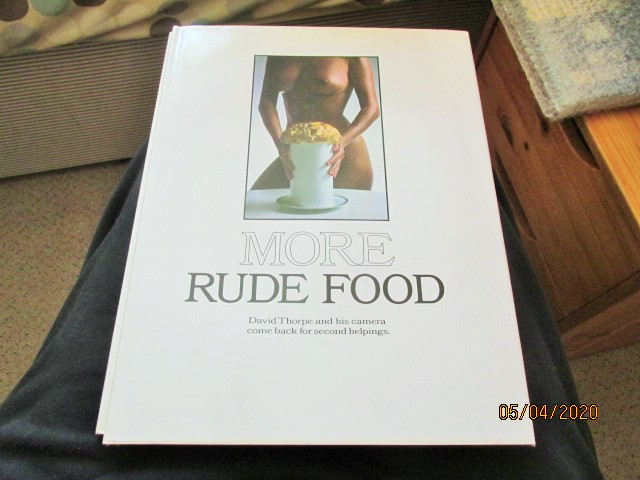 Image for More Rude Food Fine First Edition Hardback in Dustjacket Still Sealed in Cellophane
