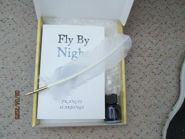 Image for Fly By Night Unread Proof in Box with Quill And Ink