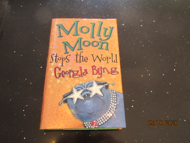 Image for Molly Moon Stops the World Signed and Doodle First Edition Hardback in Dustjacket