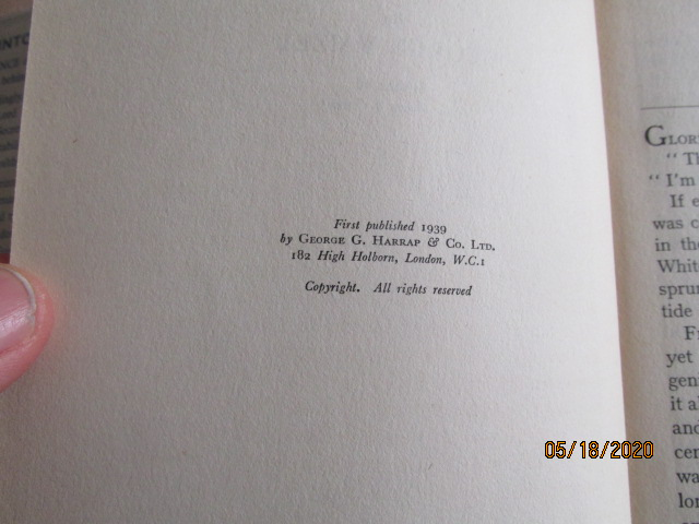 Image for Into Thin Air First Edition Hardback in Original Dustjacket