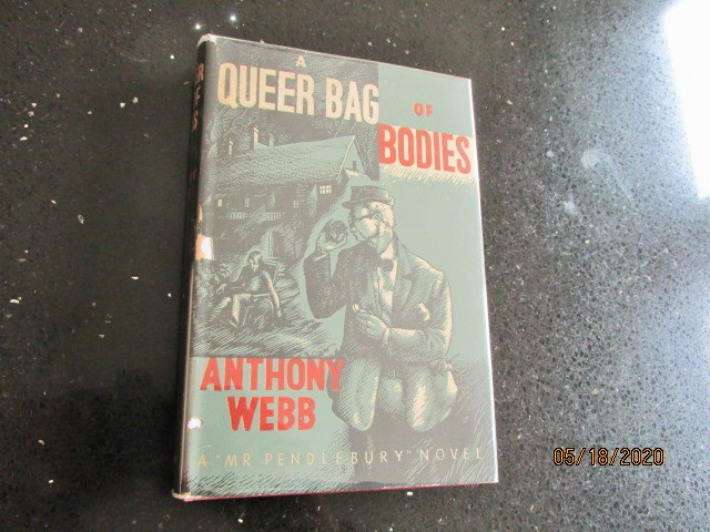 Image for A Queer Bag of Bodies First Edition Hardback in Original Dustjacket