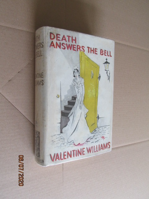 Image for Death Answers the Bell First Edition Hardback in Original Dustjacket