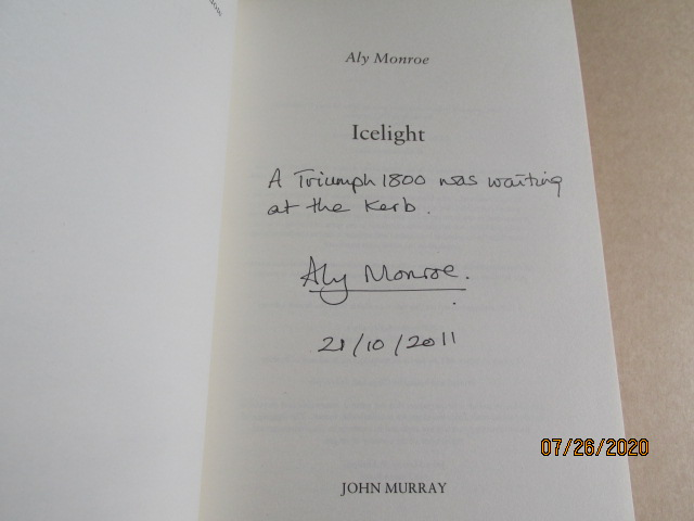 Image for Icelight Signed Lined Dated First Edition Hardback in Dustjacket