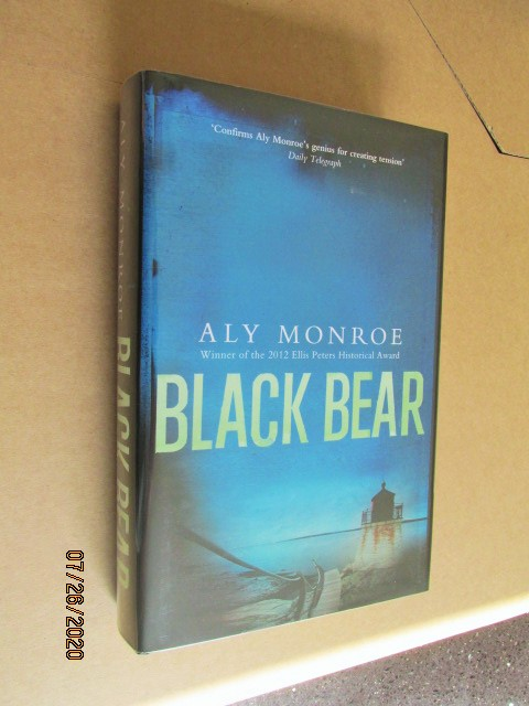 Image for Black Bear Signed Lined Dated First Edition Hardback in Dustjacket