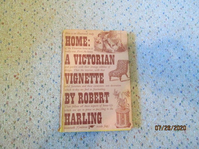 Image for Home a Victorian Vignette 1938 First Edition in Original Dustjacket