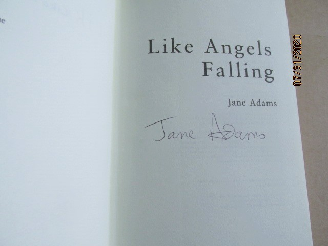 Image for Like Angels Falling Signed First Edition Hardback in Dustjacket